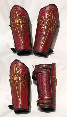 Bracers for the Red Series for my highelve