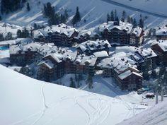 The Pretty Village of Les Arcs 1950 Haute Savoie