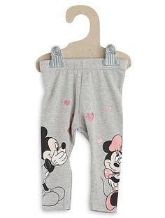 Legging 'Disney' Bébé fille 5,00€ Caleçon, legging 'Marie' des 'Aristochats' sur le legging de nos petites. - Legging long - Coton stretch - Taille élastiquée - Motif
