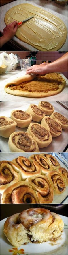 Oh, my!!! Yum!!!  Easy Cinnamon Rolls