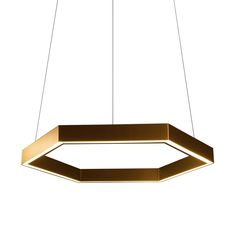 Resident+Studio's+Hex+750+Pendant:+Brass  Love everything about this light except the brass and price. ($3,000)