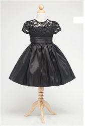 Jillian Black Holiday Dress