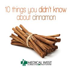 10 Things you didn't know about cinnamon | UAB Medical West