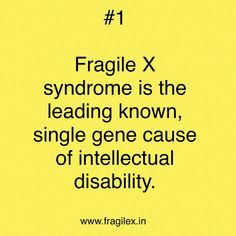 Happy 2018 everyone. Starting today, we will be posting 31 Fragile X Facts on our Facebook page. Please share, like and help us create awareness https://www.facebook.com/fragilexindia/…