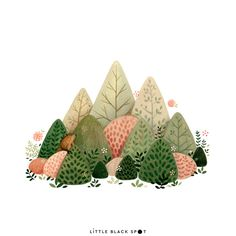 Items similar to Southern groundhog – open edition art print on Etsy – Animation ideas Plant Illustration, Art Design, Art Painting, Art Drawings, Nature Illustration, Drawings, Illustration Art, Art Wallpaper, Watercolor Illustration