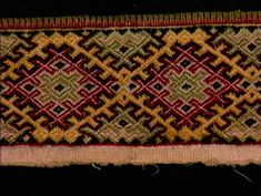 Krage, Bohemian Rug, Anne, Macedonia, Pattern, Ornament, Decor, Hemline, Decorating