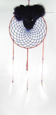 native american indian dream catchers | Navajo Fur Dream Catcher