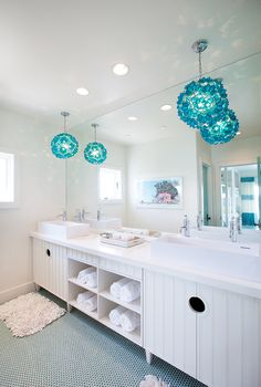 House of Turquoise: Tracy Hardenburg Designs - bathroom
