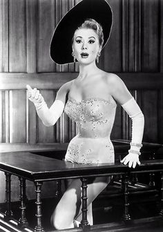 Mitzi Gaynor 1957 Les Girls  (in Orry-Kelly designed costume)