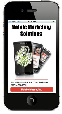 Mobile Marketing Solutions... Gotta love the custom QR and Barcodes