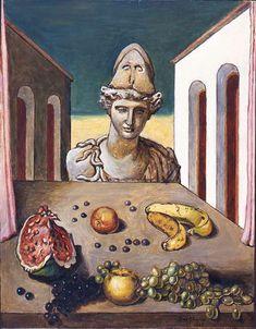 Giorgio de Chirico (1888-1978). Italian Painters, Italian Artist, Illustrations, Illustration Art, Francoise Gilot, Traditional Paintings, Surreal Art, Amalfi, Verona