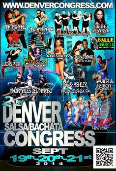 Denver is hosting a salsa and bachata congress in September. Z New, Learn Spanish, Denver, Salsa, September, Comic Books, Social Media, Comics, Learning