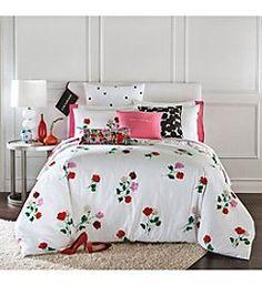 0fe7c54e2e kate spade new york® Willow Court Floral Comforter Collection Colchas E  Edredons