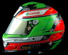Bell GP.2 Pro C.Green 2013 by Smart Race Paint