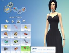 Mod The Sims - Vampire Trait
