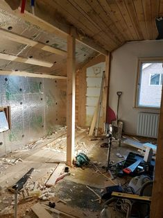 Yes! The insulation is done.Now the next project is to do a new...