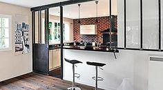 Une cuisine ouverte complètement transformée !