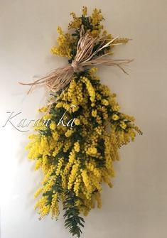 Dried Flowers, Dandelion, Swag, Herbs, Wreaths, Floral, Green, Crafts, Wedding