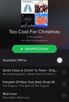 New blog post | A playlist for those of you are just too cool for Christmas  #lifestyleblog #blogger #blog