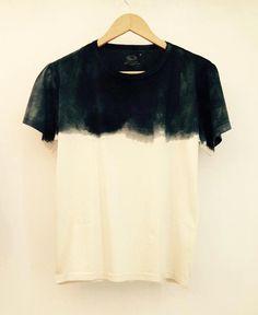 T shirt teinté à la main, en coton bio