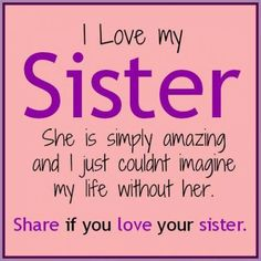 #Sister #Quotes #Friendship  . . . Top 20 Best Sister Quotes #Love #Hugs