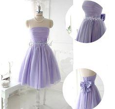 Elegant light purple prom dress / bridesmaid dresses door GirlsProms, $168.90
