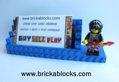 A Basic LEGO Brick Fathers Day Gift Project for Kids