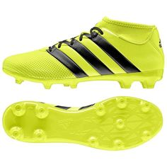 1aca310e94dd adidas Men s ACE 16.3 Primemesh FG AG Solar Yellow Core Black AQ3439 Sz 10.5