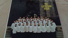 The Lutheran Hour, A Mighty Fortress Is Our God, RCA 1958, recorded Holy Cross Lutheran Church, St. Louis MO by Eclectasism on Etsy