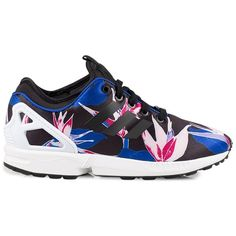 Adidas Originals Zx Flux Nps ($125) ❤ liked on Polyvore featuring shoes,  sneakers
