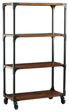 Industrial Empire Bookcase - eclectic - bookcases cabinets and computer armoires - Home Decorators Collection