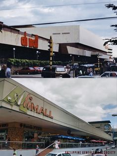 Dito, Noon: Ali Mall, 1980s x 2018. #kasaysayan — Ali Mall along Times Square, facing SM Cubao Filipina, Present Day, 1980s, Philippines, Anxiety, Times Square, Cities, Explore, Cars