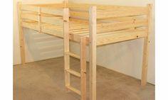 Comfy Living 3ft (90cm) Mid Sleeper Bunk in Pine No description http://www.comparestoreprices.co.uk/bunk-beds/comfy-living-3ft-90cm-mid-sleeper-bunk-in-pine.asp