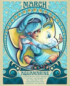 March the Aquamarine