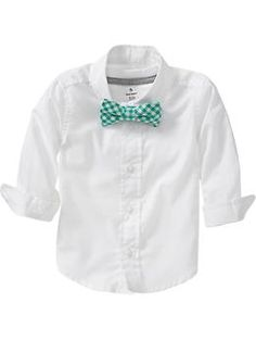 Shirt & Bow-Tie Sets for Baby | Old Navy- www.old navy.gap.com  #kidseaster