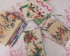 willow rose boutique fabric notebooks