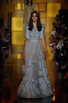 Suzy Menkes at Couture: Elie Saab|スージー・メンケス|ファッション・ビューティー・セレブの最新情報|VOGUE