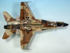 F-18A 1/72 Scale Model