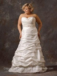 CocoRoyale Plus Size Wedding Dress - Wedding Dress