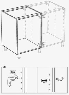 We've put together our share of Ikea products and they all come with a little learning curve. But, nothing prepared us for the task of crea. Ikea Cabinets, Built In Cabinets, Base Cabinets, Storage Cabinets, Ikea Kitchen, Kitchen Flooring, Kitchen Reno, Kitchen Stuff, Kitchen Furniture