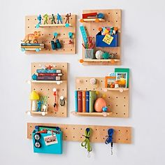 Peg Board Shelves 11 Easy Diy Shelves To Maximize A Small E. Shelves Peg Board Shelf Nz Creative Shelf Shelf Furniture Pin It. Diy Idea Plywood Pegboard Shelf Homes You. Pegboard For Kids, Ikea Pegboard, Pegboard Storage, Wall Storage, White Pegboard, Paper Storage, Toy Storage, Craft Storage, Peg Board Shelves