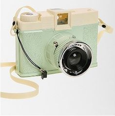 Mint green Lomography camera from Urban