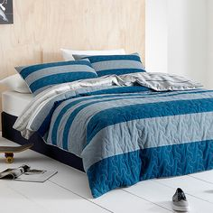 Tucker Quilted Quilt Cover Set