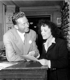 Charles Trenet and Edith Piaf, Charles Trenet, French Songs, Famous French, Famous Singers, France, French Artists, Music Artists, Jazz, People