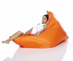 original beanbag in orange