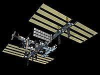 Die Internationale Raumstation ISS nach ihrer Fertigstellung