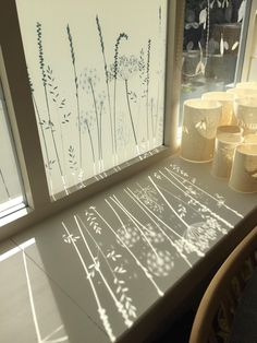 Paper Meadow's Edge Window Film - Paper Meadow's Edge Window Film – Hannah Nunn Imágenes efectivas que le proporcionamos sobre di - Window Art, Window Decals, Window Stickers Privacy, Window Films, Privacy Window Film, Bathroom Window Privacy, Glass Film Design, Frosted Window Film, Sandblasted Glass