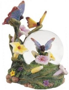 Butterfly Snow Globes