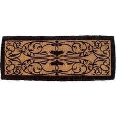 Iron Grate Hand Woven Extra Thick Coir Doormat
