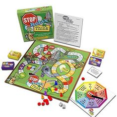 Amazon.com: Stop, Relax & Think: A Game to Help Impulsive Children Think Before They Act: Toys & Games